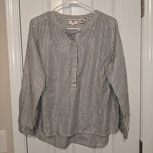 Levi's Striped Blouse